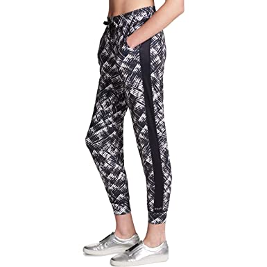 325ac1475bf16 Amazon.com: DKNY Sport Womens Fitness Running Athletic Leggings B/W ...