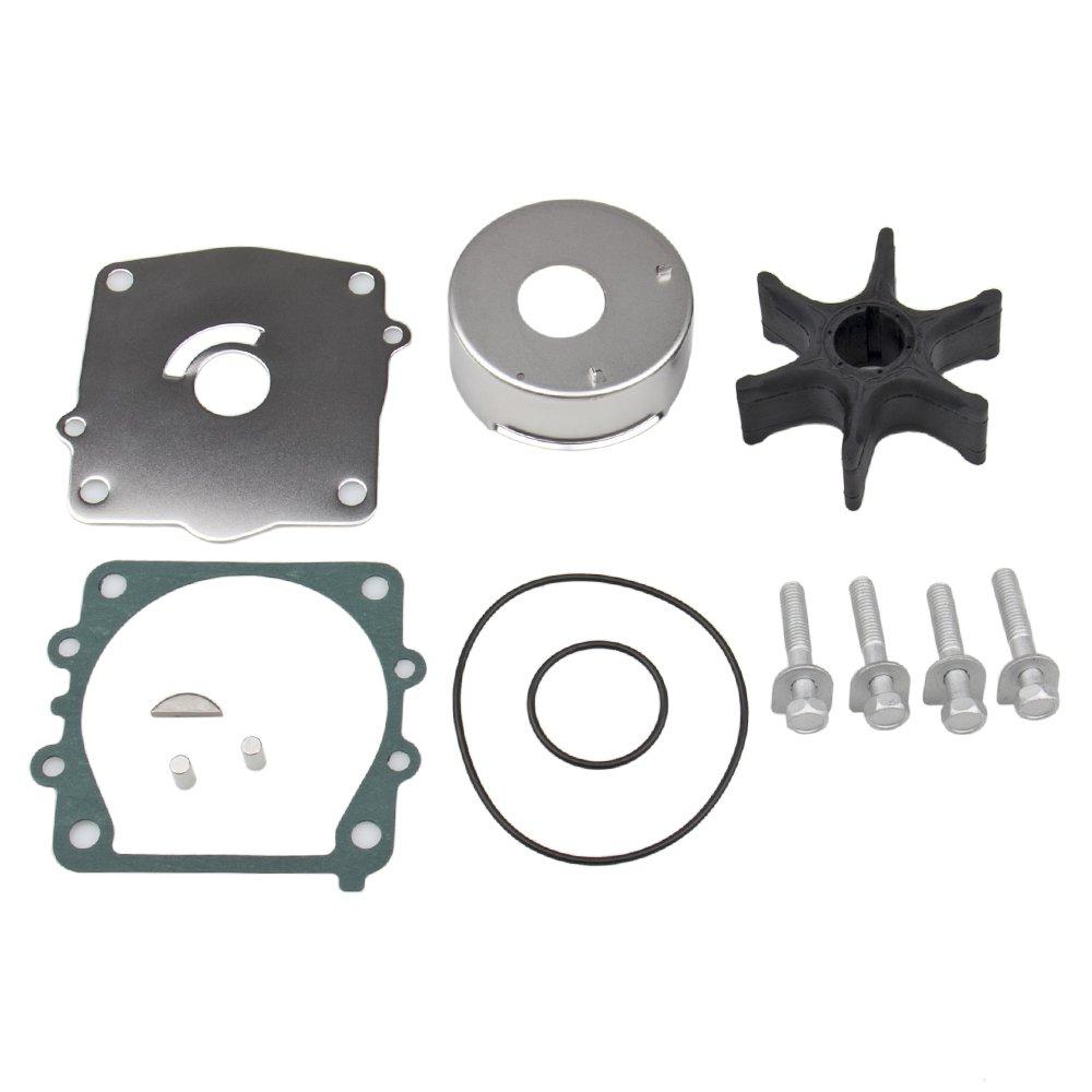 CarBole Yamaha Impeller Complete Kit 115 Hp 6N6 1993-1995 WSM 750-431 OEM# 6N6-W0078-01-00, 6N6-W0078-02-00