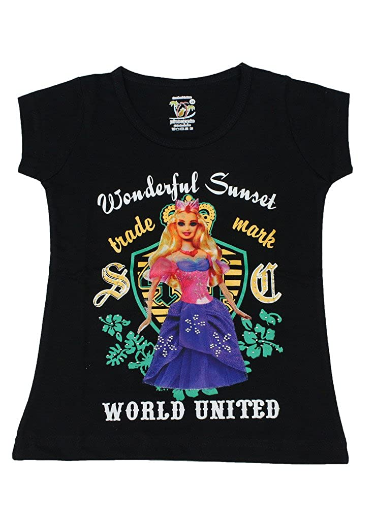 Romano Girls Black Beautiful Fashion Top
