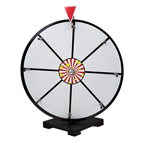 16 White Dry Erase Prize Wheel by Midway Monsters