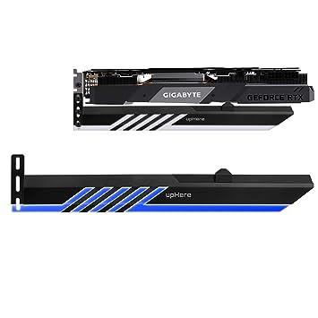 upHere LED Azul Soporte de Tarjeta gráfica, Un Soporte para Tarjeta de Video, una Carcasa GPU(GL28BE)