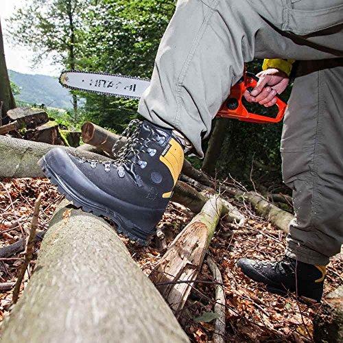 Beskytter Operasjoner Cut På Klasse Alpin Svart Lier Med Høyteknologiske Haix motstand For Beskyttende Sko 3 TqdfHwX
