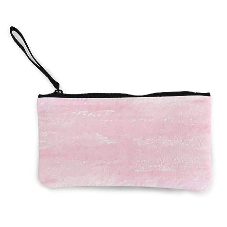 Wrution - Monedero de Tela, diseño de Tela, Color Rosa ...
