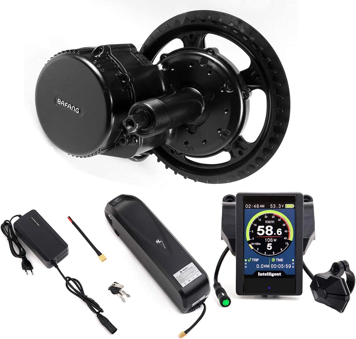 Bafang 48V 750W Mid Drive Electric Bike Conversion Kit