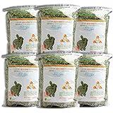 牧草市場 USチモシー 2番刈り 牧草 ソフトタイプ 3kg (500g×6パック)(うさぎ・モルモットなどの牧草)