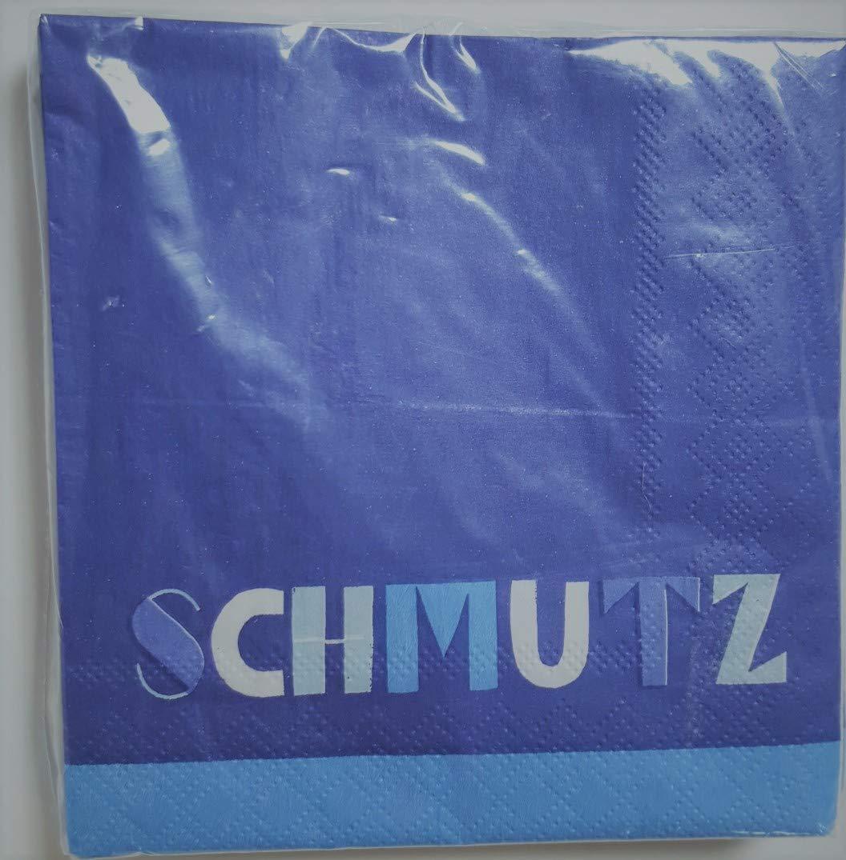Schmutz Hanukkah beverage 2-ply paper napkins
