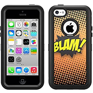 Otterbox Apple iPhone 5 5s Defender Case BLAM! Comic Book on Black