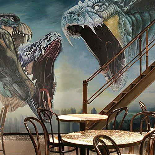 Leegt 3D Espíritu Terrorista Dragon Totem Murales Varían ...