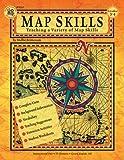 Map Skills, Carson-Dellosa Publishing Staff, 0880128402
