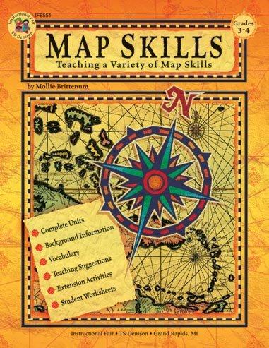 Map Skills Teaching A Variety Of Map Skills Grades 3 4 Mollie Brittenum 9780880128407 Amazon Com Books