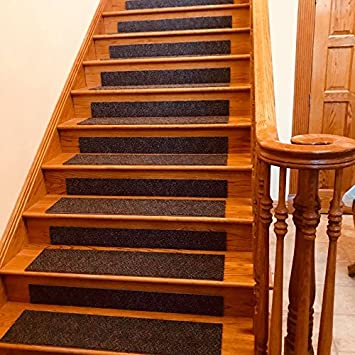 Stair Tread Risers 36u0026quot; X 8u0026quot; Peel And Stick 13 Steps With 14 Risers