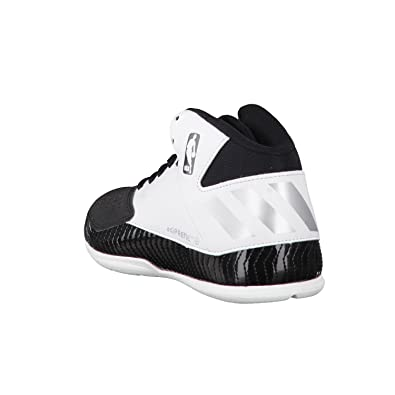 Adidas Next Level Speed V Junior Kids NBA Basketball Trainers White Black