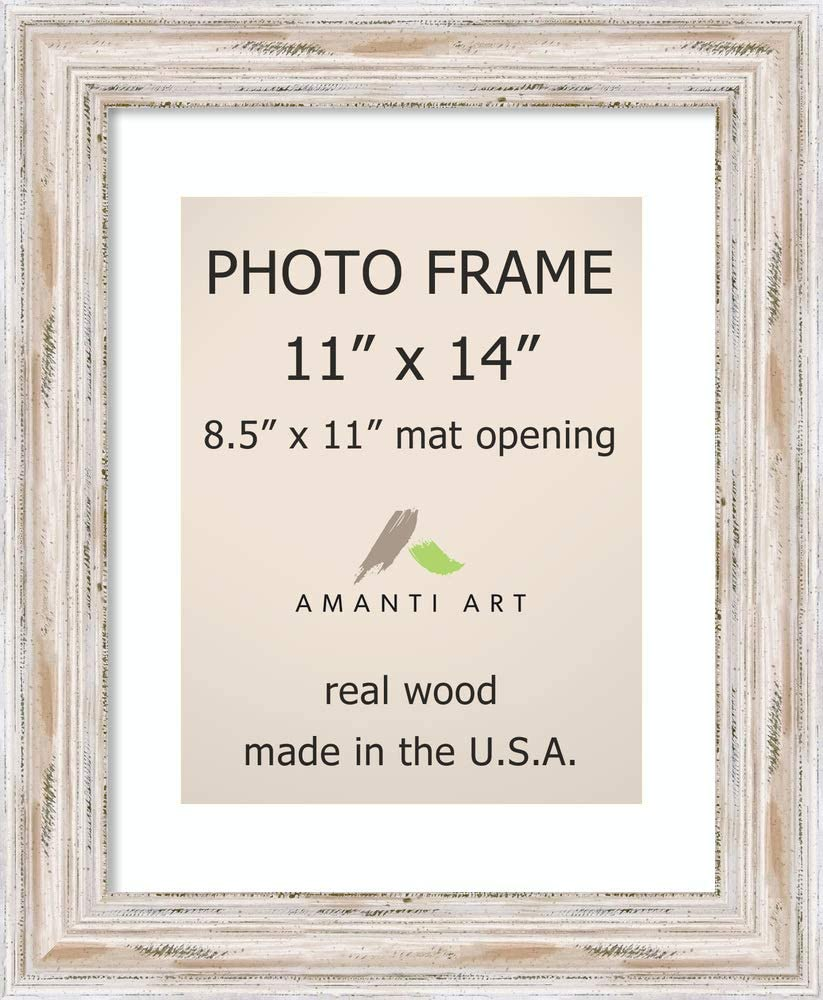 White Wood Picture Frame Made To Display Artwork Measuring 36x36 Inches