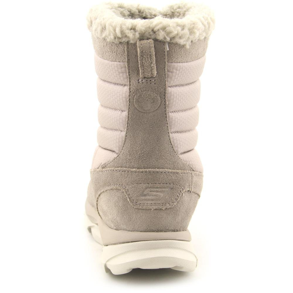 Skechers Women GOdri Ultra Bounce Waterproof Winter Boot Shoe B00PR6HJYC 9 B(M) US|Natural