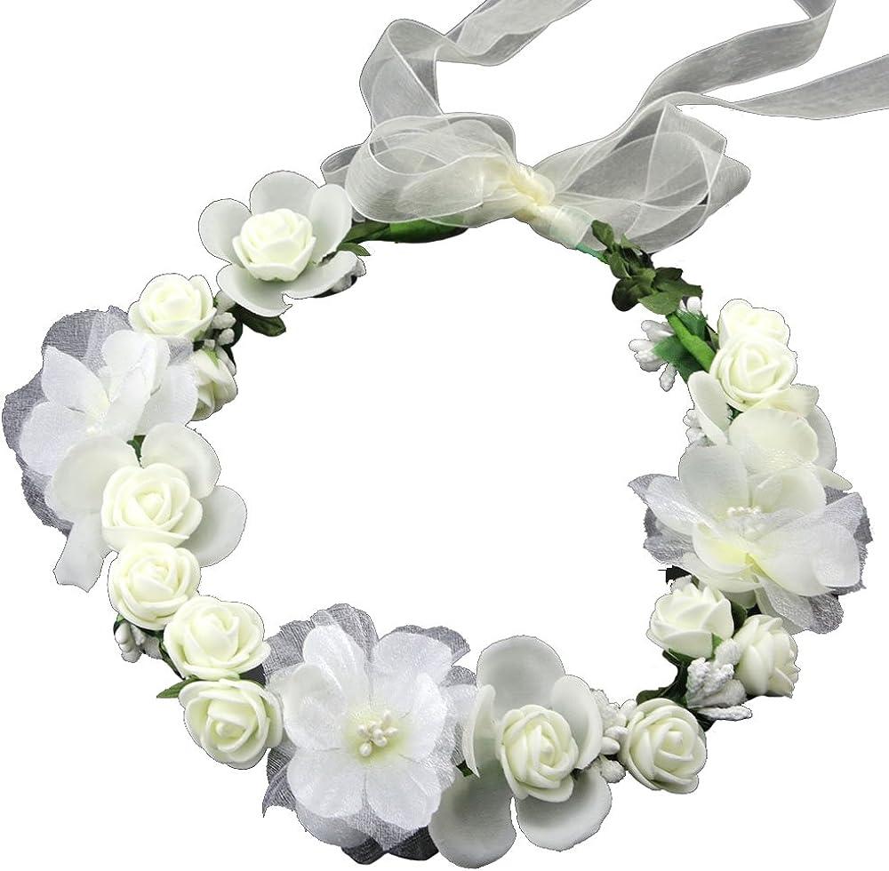Flower Crown White...