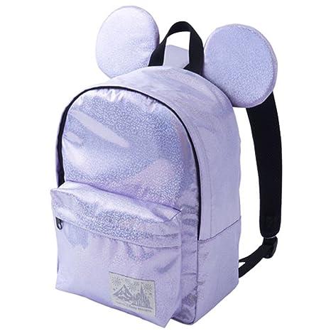 3e12628c554f ミッキー マウス 型 リュック ( ラメパープル ) ディズニー リュック バッグ バック 鞄 かばん 可愛い かわいい