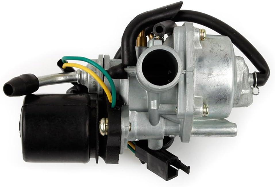 YAOBLUESEA 17,5mm Carburateur pour Moteur Carburateur pour 50cc 2 temps Moto Carb