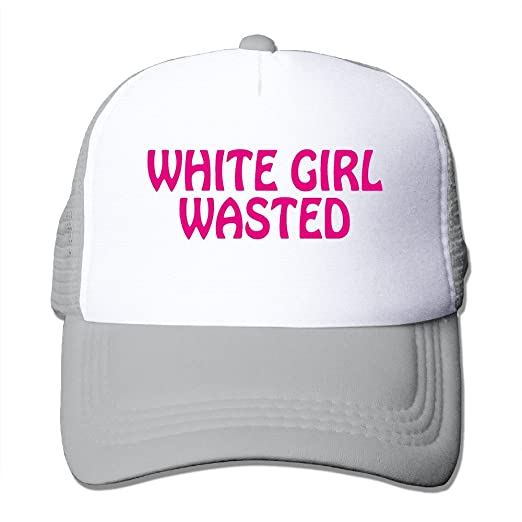 Funny WHITE GIRL WASTED Unisex Snapbacks Trucker Hats Caps at Amazon Men s  Clothing store  6aea08694025