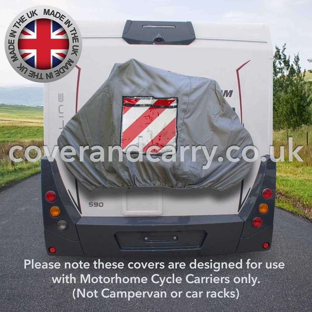 Sign Pocket Caravan Motorhome Bike Cover For 2//3 Bikes