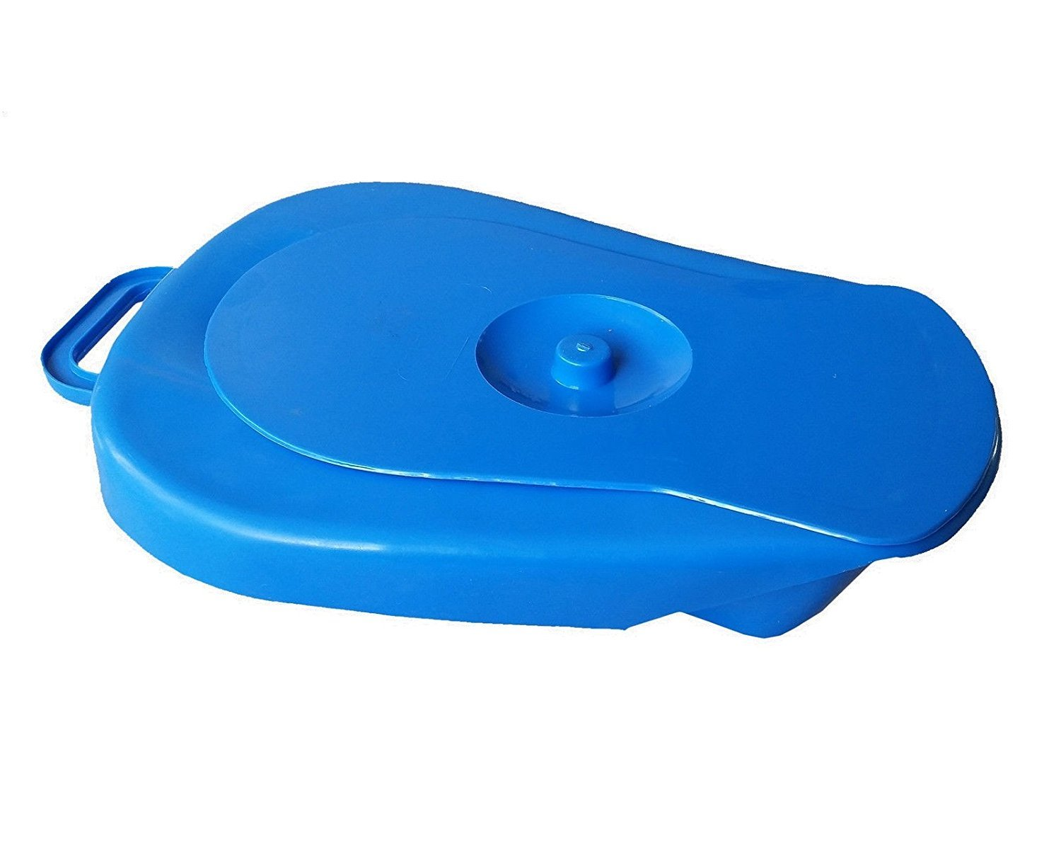 Polypropylene Duro-Med Deluxe Bedpan, Smooth Countoured Bariatric Bedpan, Autoclavable (Size: 39 * 26 * 9 Cm)