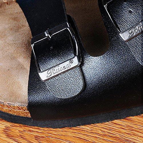 Pantofole Da GUANG 42 Primavera Tendenza Uomo Ed Estate Black Scarpe Coreane Tendenze Trascinare Da Di Uomo Pantofole XING Da 44 Spiaggia Casuali Pantofole White Sandali PdqwTfS