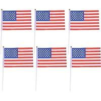 Lioobo 20 unidades de bandeiras de campo internacionais para jogos esportivos e acessórios para festas - América
