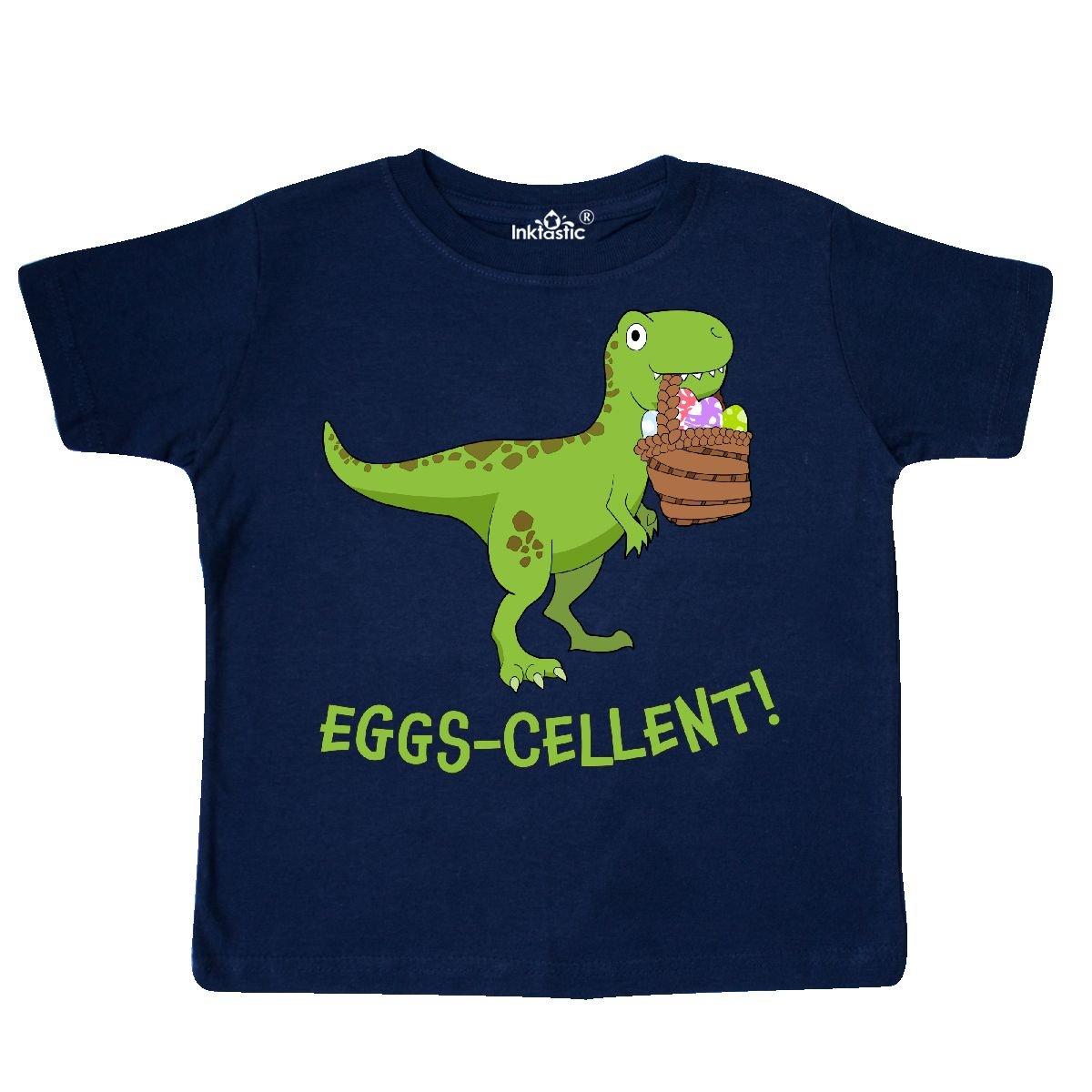 - Eggs-cellent! Cute Easter T-rex Dinosaur T-shirt 29089