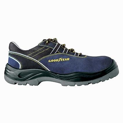 Zapatos de seguridad GoodYear 108 Basse S1P, azul