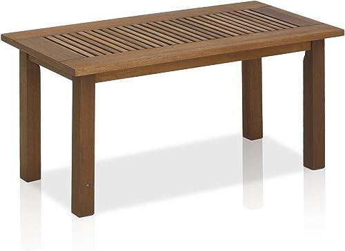 Furinno FG16504 Tioman Hardwood Patio Furniture Outdoor Coffee Table