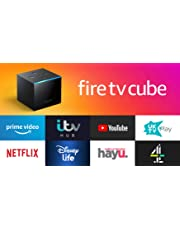 All-new Fire TV Cube | Hands free with Alexa, 4K Ultra HD streaming media player