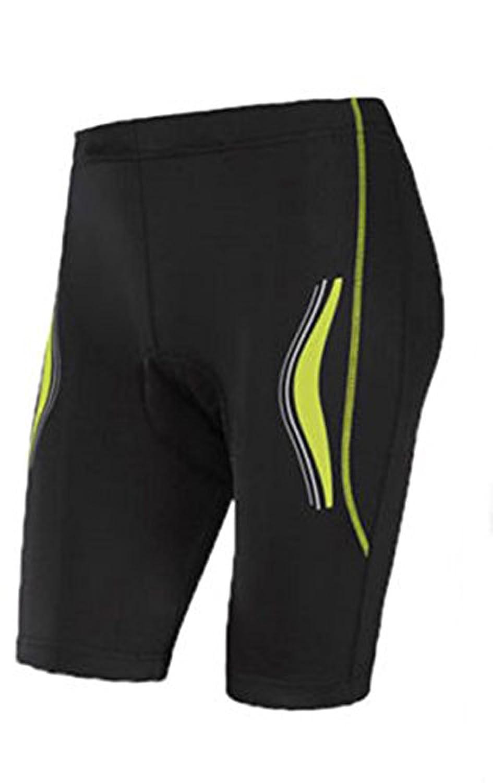 Crivit Sports Men s Cycling Shorts Bike Cycling Sports Trousers Black Yellow 61dfeae94