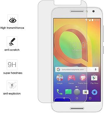 Tumundosmartphone Protector Cristal Templado para ALCATEL A3 (4G ...