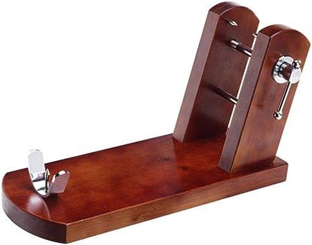 Jamonero fabricado en ESPAÑA con madera de pino insigne chileno de primera calidad, los herrajes y p