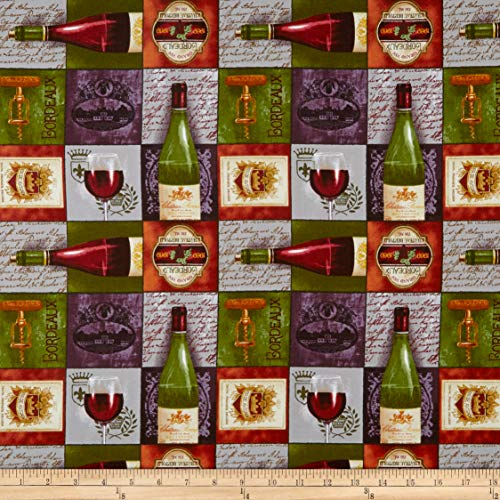 Vineyard Patch - Blank Quilting Vineyard Valley Small Patch Rust Fabric by The Yard