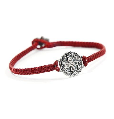 Bracelet rouge homme kabbale