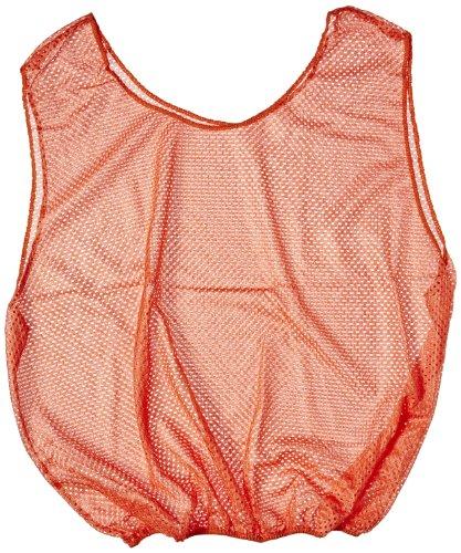 Sportime Mesh Scrimmage Vest - Adult Size - Orange ()
