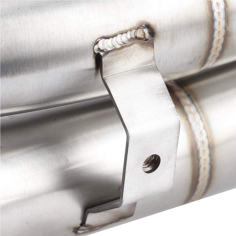 convertidor catal/ítico eliminado Cat Delete Tubo de Escape del Tubo Medio Enlace para Tubo Yamaha YZF-R1 2009-2014 Outbit Tubo Medio de Escape