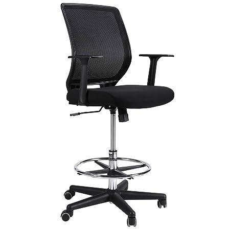sedia ufficio regolabile alta