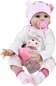 CapsA Magnet Pacifier Magnetic Dummy Nipple Reborn Doll Accessories for Newborn Baby Dolls Simulation Dolls Reborn Doll Baby Toy Baby Nipple