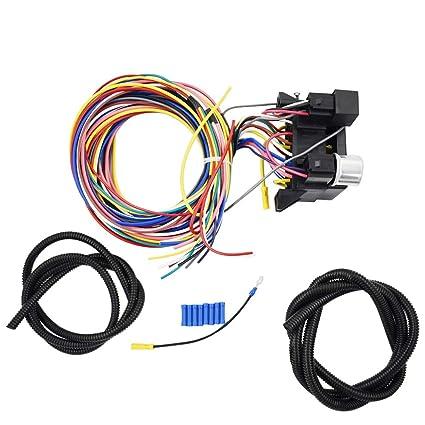 labwork-parts - Arnés Universal de 12 circuitos para Barra de ...