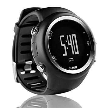 Leo565Tom Smartwatch Intelligent GPS Etanche Montre de Sport, Multifonctionnel Bracelet Connecté Tracker dactivité