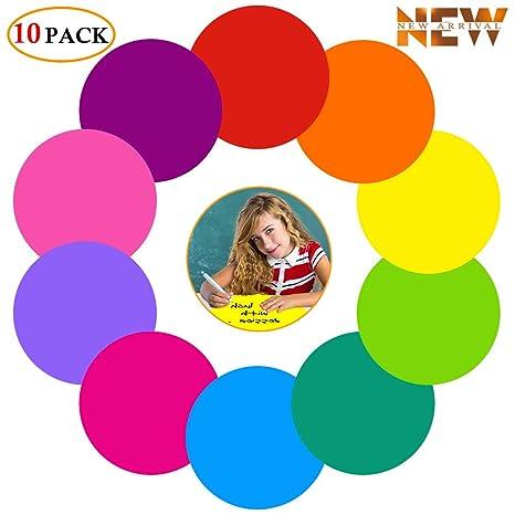 Amazon.com: Colorido borrado en seco puntos círculos pizarra ...