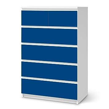 Creatisto Klebefolie Sticker Aufkleber Für Ikea Malm 6 Schubladen (Hoch) |  Möbel Renovieren Möbeltattoo