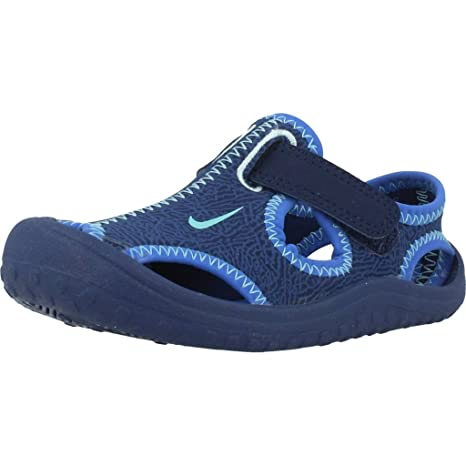 6a1d01116096 Amazon.com  Nike Kids Sunray Protect Infant Toddler Binary Blue Still  Blue Comet Blue Boy s Shoes  Everything Else