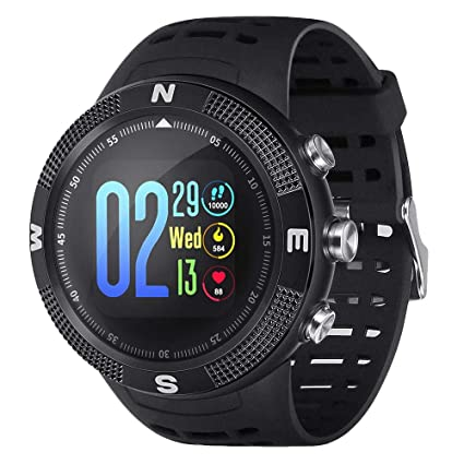 Amazon.com: I-D-S Shop NO.1 F18 Smartwatch Sports Waterproof ...