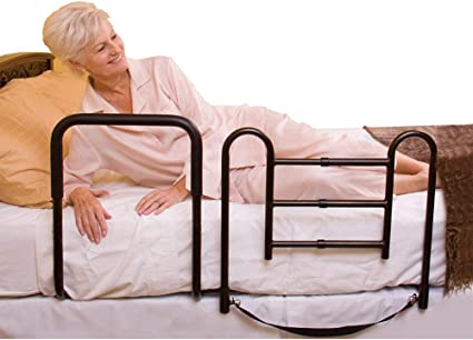 Amazon Com Carex Easy Up Bed Rails For Elderly Adult Bed Hand