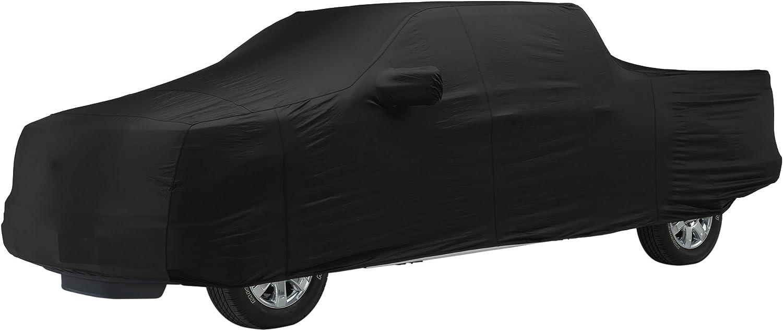 Covercraft FS7383F5 Black Custom Fit Car Covers Fleeced Satin FS7384F5