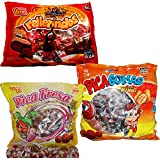 Spicy Mexican Candy Kit Including Vero Rellerindos, Mango Pica Gomas and Pica Fresas