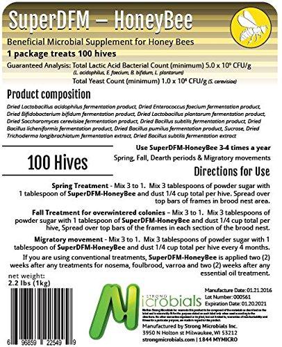 SuperDFM HoneyBee Hives, 2.2 lb. by SuperDFM