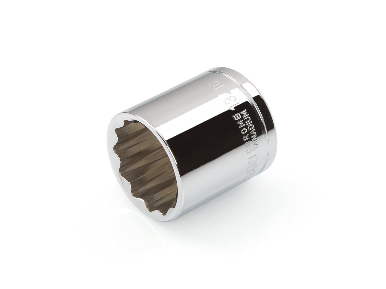 TEKTON 14227 1/2-Inch Drive by 14 mm Shallow Socket, Cr-V, 12-Point TEKTON 14227 1/2 in. Drive by 14mm Shallow Socket 49M14227